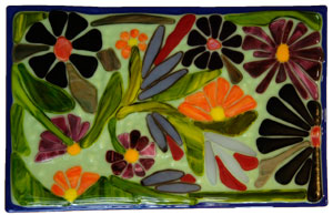 Floral Plaques by Heather Richman
