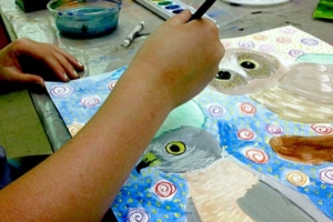 watercolor painting kids classes at the art center fun creative awesome